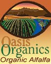 Oasis Organics ~ Organic Alfalfa ~ Organic alfalfa hay for pick up or delivery ~ Imperial Valley
