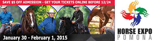 Horse Expo Pomona, Jan 30 to Feb 1, 2015, Fairplex in Pomona