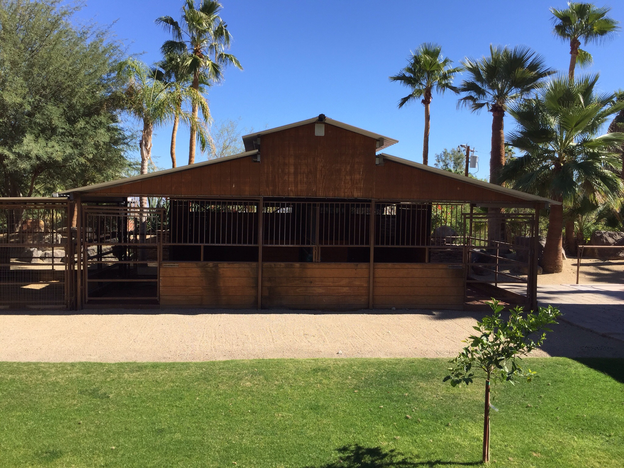 Castlebrook stables and an RV Structure for sale.