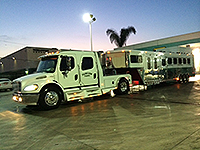"Fairview Farms Horse Transport "" We go the extra mile"" - Local, Long Distance, Horse Shows, 24 hour Emergency Transport."