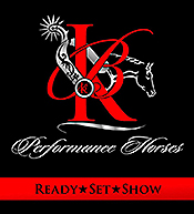 KB Performance Horses specializes in AQHA Western and English events such as trail, horsemanship, showmanship, western pleasure, western riding, hunter under saddle, and hunt seat equitation.